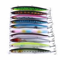 10pcs/Lot 13.5cm/18.5g Fishing Lures Jerkbait Crankbaits Minnow Bait Bass Tackle