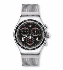 Relojes de pulsera Swatch de acero inoxidable de acero inoxidable