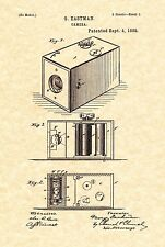 Patent Print - Antique Camera 1888 G. Eastman Kodak - Ready To Be Framed!
