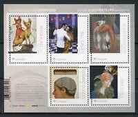 Canada 2018 MNH Great Illustrators Anita Kunz Dubois 5v M/S Art Design Stamps