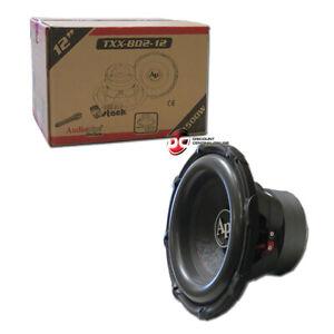 "Audiopipe TXX-BD2-12 12-inch 12"" Dual 4-ohm Car Audio Subwoofer 1500 Watts"
