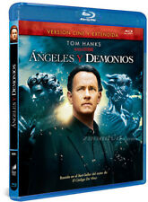 Blu-Ray ANGELES Y DEMONIOS (TOM HANKS) VERSION CINE y EXTENDIDA