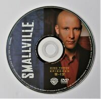 (ZERO SCRATCHES) SMALLVILLE - SEASON 2 DISC 3 REPLACEMENT DVD DISC ONLY