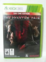 Metal Gear Solid V: The Phantom Pain -- Day One Edition (XBOX 360) (Complete)