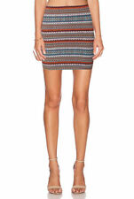 Regular Geometric Straight, Pencil Skirts for Women