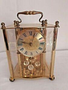 Vintage Acctim Anniversary Carriage Clock Quartz Mechanism