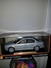 1/18 die cast car--2001 Jaguar X Type by masito special edition