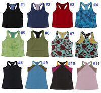 5529 Patagonia Women Top Tank Yoga Gym Fitness Running Organic Cotton XS S M L