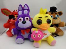 """4PCS 25CM/10"""" FNAF Five Nights at Freddy's Chica Bonnie Foxy Plush Doll Soft Toy"""