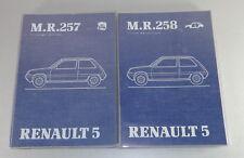 Workshop Manual renault r5 a partir de stand 1984 08/1984