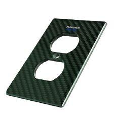 FURUTECH 105-D NCF non-magnetic nano-crystal Carbon-Fiber outlet Cover 105DNCF