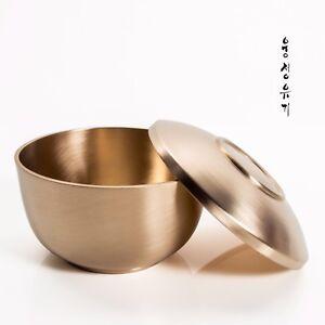 [by Artisan Jin-Ho Lee]Korean Bangjja Yugi Rice Bowls - Yeon