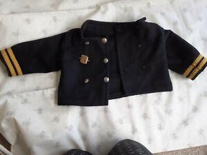 Antique teddy bear clothes