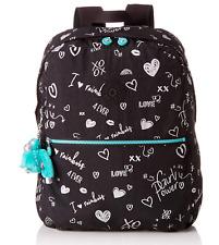 Kipling Medium School Backpack EMERY in GIRL DOODLE Print BTS19 RRP £77
