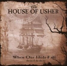 THE HOUSE OF USHER When Our Idols Fall CD 2007