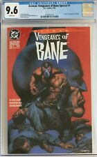 CGC 9.6 Vengeance of Bane #1, white pages NM+, 1st appearance Bane, NEW CASE