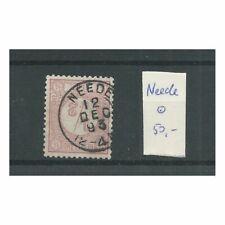 """Nederland 30 """"NEEDE 1893""""  kleinrond  VFU/gebr  CV 50+ €"""