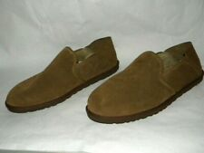 UGG Mens Size 18 Cooke 1013485 Slip-On Slippers Loafers Chestnut Suede EU 52 NEW