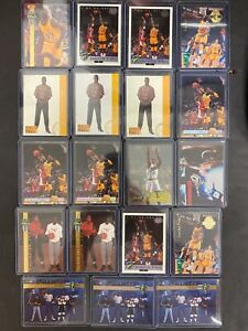 (19) SHAQUILLE O'NEAL LOT 1992 CLASSIC GOLDS INSERTS RARE ROOKIE RC CARDS