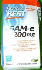 Doctor's Best SAM-e 200 mg Enhanced Mood Dietary Supplement - 60 Tablets