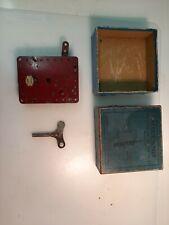 Meccano Clockwork Motor No 2 Reversing With Box and Key
