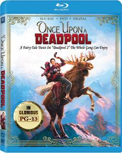 Deadpool 2 - Once Upon A Deadpool [New Blu-ray] With DVD, Digital Copy