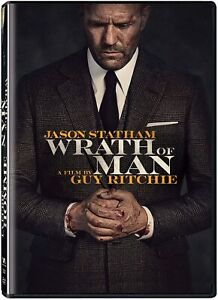 Wrath of Man (DVD, 2021) Jason Statham - BRAND NEW - FREE SHIPPING!!!