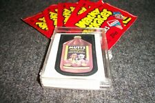 1986 Wacky Packages Partial Set Of 33/77 Stickers + 5 Unopened Brand New Packs