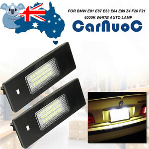 For BMW E81 E87 E63 E85/E86 Z4 Vehicle Rear Number Led License Plate Light Lamp