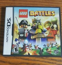 LEGO Battles (Nintendo DS, 2009) Complete - Free Shipping