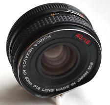 KONICA HEXANON AR 40mm f1.8 for mirrorless cameras JAPAN