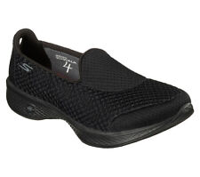 Skechers GOwalk 4 Kindle With Goga Max Insole - 14145 UK 6 Black
