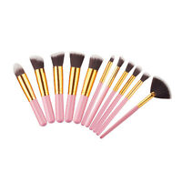 Makeup Brushes 11PCS Eyeshadow Eye Shadow Cosmetic Make Up Brush Kit Set Tools
