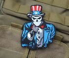 NEW Uncle Sam Morale Crafts Decor Embroidered   Patch Badge 7.5x9.5cm  SJK+ 228