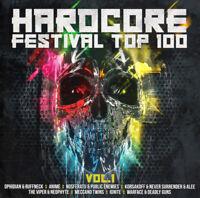 HARDCORE FESTIVAL TOP 100 = Ruffneck/Neophyte/Anime/Angerfist...=2CD= GABBER!