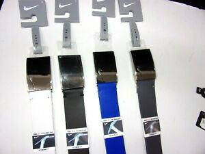 NEW Nike leather belts (CUT TO SIZE) Black, Grey, White, Blue
