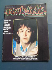 Rock & Folk 133 1978 PAUL Mc CARTNEY BRIAN ENO EAGLES FRANK ZAPPA JONI MITCHELL