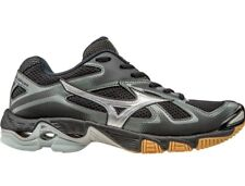 Womens Mizuno Wave Wave Bolt 5 Volleyball Shoes Size 7 Black Grey 430204.9073