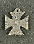 WW1 British The Kaiser's Invasion of France Belgium Iron Cross Propaganda Medal