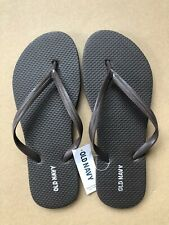 Flip Flops NWT Old Navy Classic Thong Sandals Women Brown Shoes Comfortable