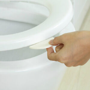 10pc Bathroom Toilet Seats Cover Lid Lifter Handle Clean Lifting Device Tools