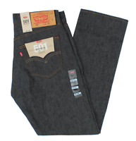 NEW MEN'S LEVIS ORIGINAL STF SHRINK TO FIT JEANS BLACK ALL SIZES 005010226