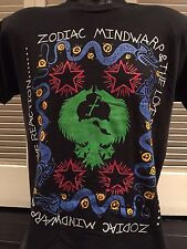VTG Zodiac Mindwarp Tour Shirt Sz M/L Ministry Alternative Rock Biker Metal NIN