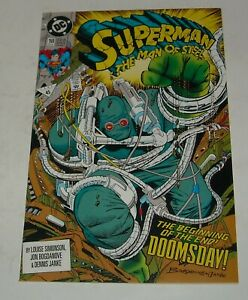 SUPERMAN MAN of STEEL # 18 DC COMICS 1992 DOOMSDAY 1st FULL APPEARANCE KEY ISSUE