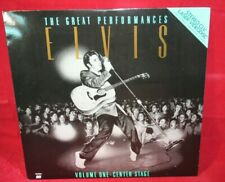 Laserdisc {u} * Elvis * The Great Performances ~ Volume One : Center Stage