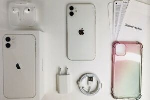 Apple iPhone 11 - 64GB - White (Unlocked) A2111 (CDMA + GSM)