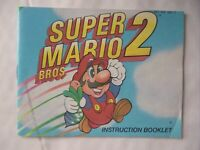 64095 Instruction Booklet - Super Mario Bros. 2 - Nintendo NES (1989) NES-MW-UKV