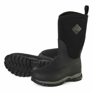 Muck Boot Rugged II Youth Outdoor Sport Boot RG2-001 Black Size 5