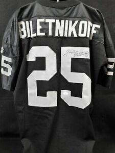 Fred Biletnikoff Signed Oakland Raiders Authentic Starter Jersey JSA Authentic