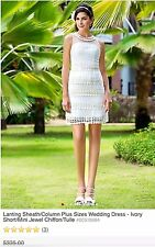 Mini Wedding Dress NWT Retails 300$